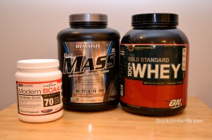 The supplements I use.